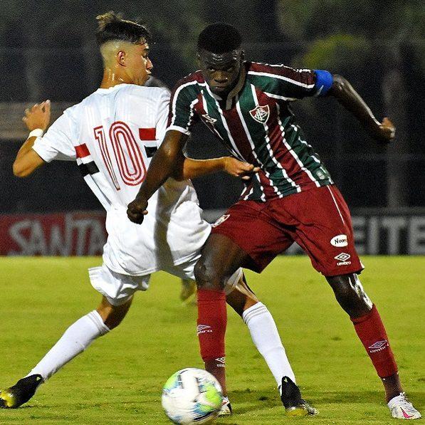 São Paulo e Fluminense empatam pela Copa do Brasil sub-17