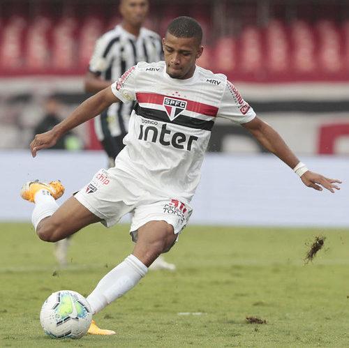 São Paulo: Brenner é o jogador do mês de Dezembro do Brasileirão