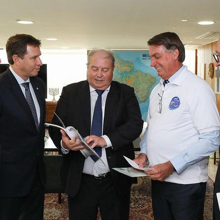 Ernani Polo apresenta demandas do Estado ao presidente Bolsonaro
