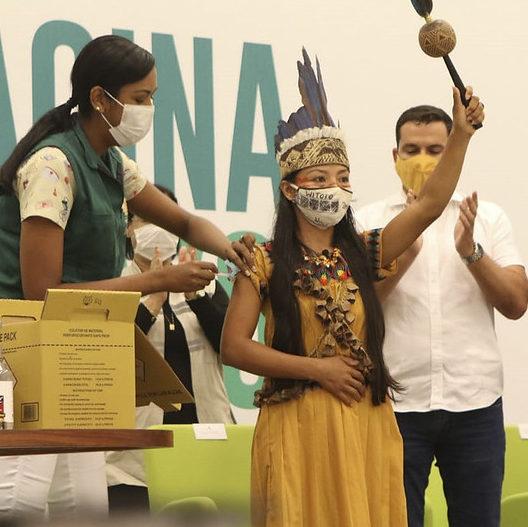 Ministério reforça cobertura de vacinação indígena no País