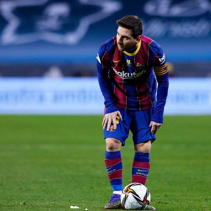 Messi é expulso e Barcelona perde a Supercopa da Espanha