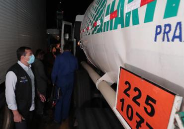 Governo envia 70 mil metros cúbicos de oxigênio para Manaus