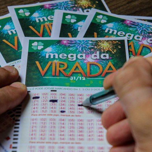 Mega da Virada: duas apostas vencedoras dividem prêmio