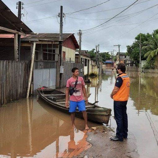 Acre: governo atua para acolher afetados pela cheia e imigrantes