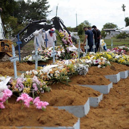 Brasil registra 464 mortes por Covid-19 nas últimas 24 horas