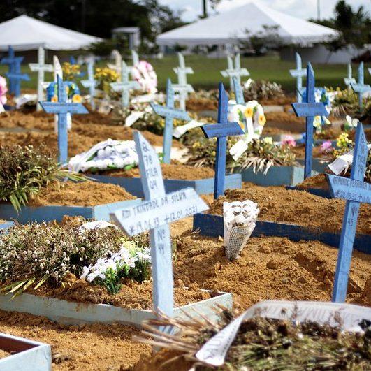 Estudo projeta até 100 mil mortes por Covid-19 no Brasil em abril