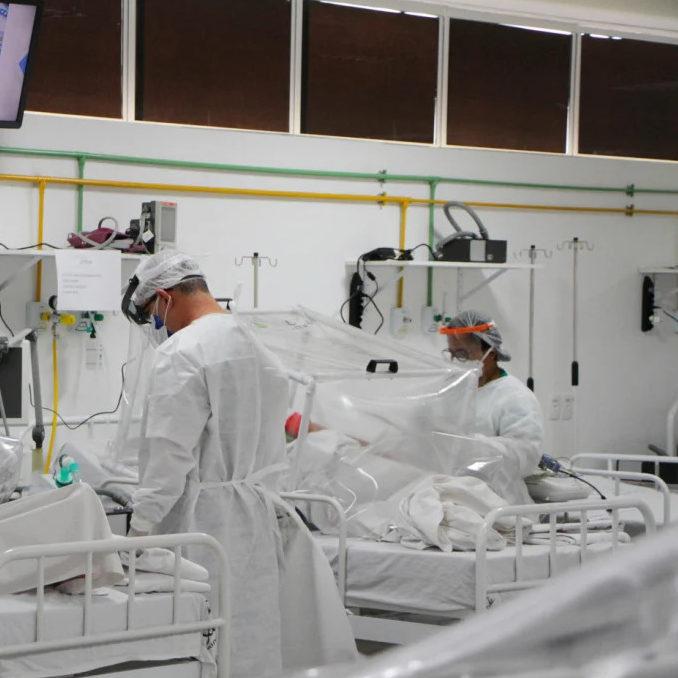 NE: Salvador tem novo recorde de pessoas à espera de um leito