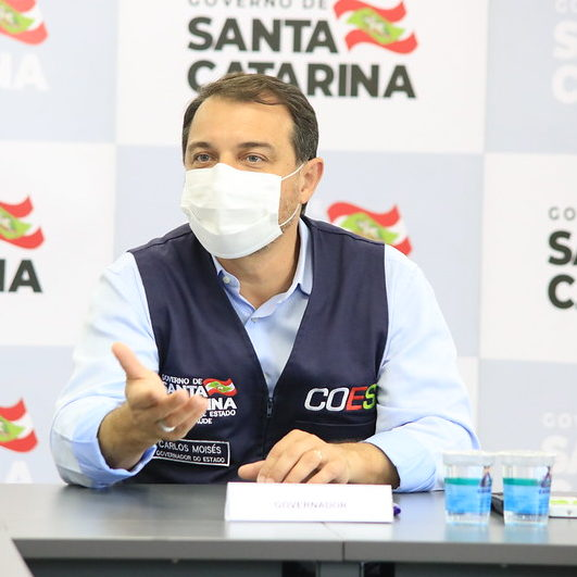 Governador de SC é afastado pela 2º vez por novo impeachment