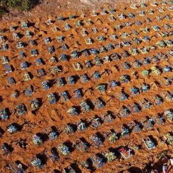 Brasil ultrapassa a marca de 294 mil mortes por Covid-19