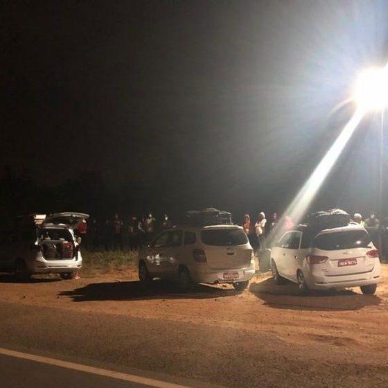 Taxistas são presos transportando imigrantes ilegais