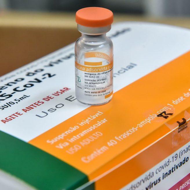 Com novo lote, Butantan totaliza 49 milhões de vacinas entregues