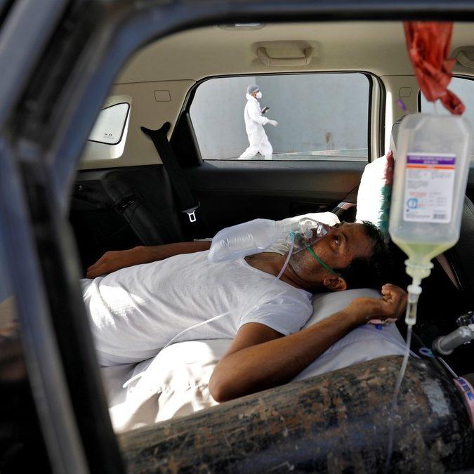 Índia bate recorde mundial de novas infecções por Covid-19 pela 8ª vez em 9 dias