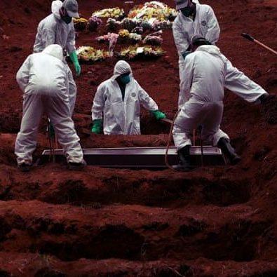Brasil soma maior número de mortes por Covid em mais de um mês