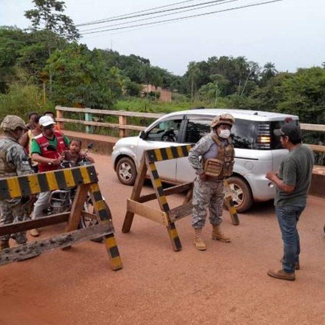 Presidente da Bolívia anuncia fechamento das fronteiras com o Brasil