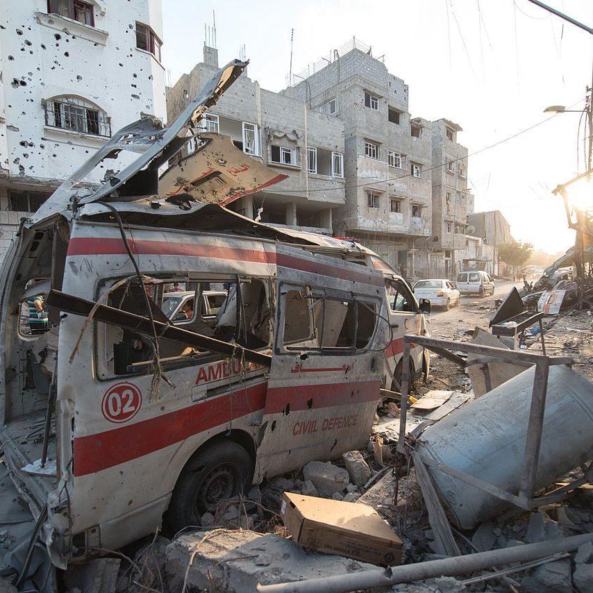 Ataques de Israel contra Gaza já mataram mais de 100 palestinos