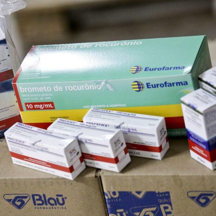 Kit intubação doado pela Espanha começa a chegar nos estados