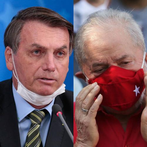Pesquisa aponta empate técnico entre Bolsonaro e Lula nas eleições de 2022
