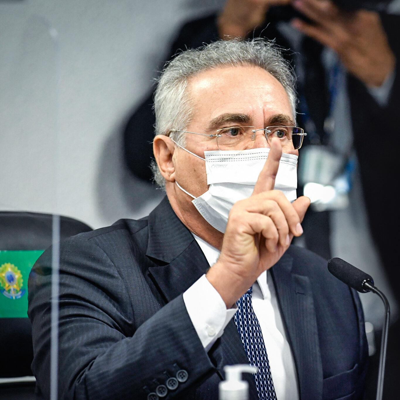 Renan inclui Queiroga, Pazuello e outros 12 como investigados