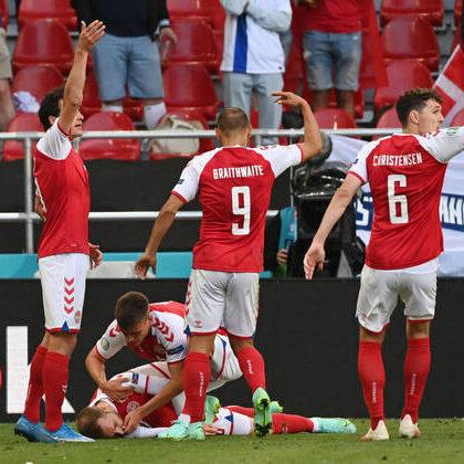 """Eurocopa: médico da Dinamarca afirma: """"Eriksen estava morto"""""""
