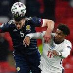 Eurocopa: Inglaterra empata sem gols com a Escócia em Wembley