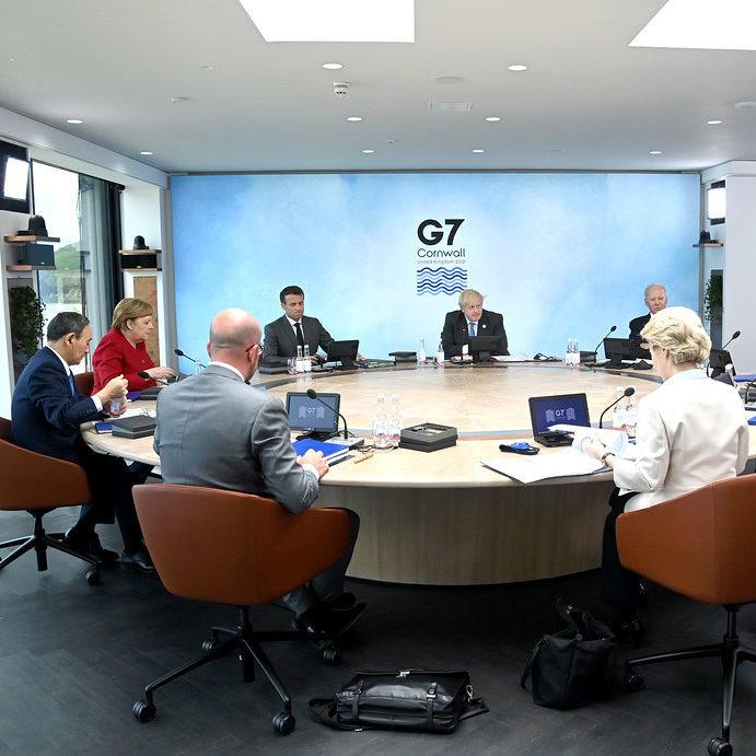 G7 na Inglaterra marca volta de cúpulas presenciais
