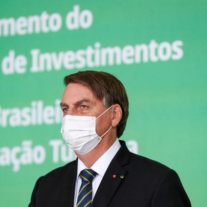 PGR se posiciona contra obrigação do uso de máscara por Bolsonaro