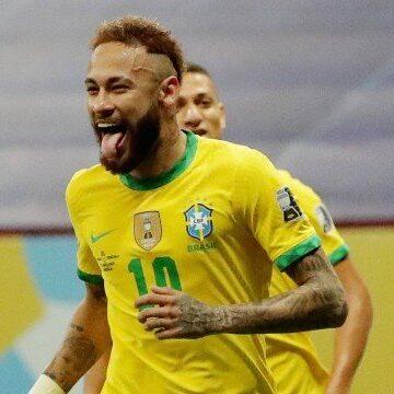 Copa América: Neymar brilha e se emociona na goleada do Brasil sobre o Peru
