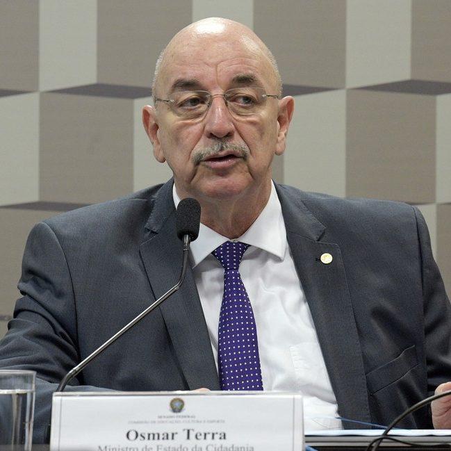 "CPI convoca Osmar Terra para falar sobre ""gabinete paralelo"""