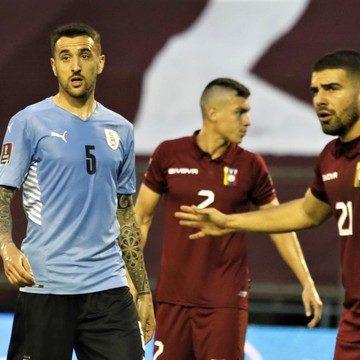 Eliminatórias: Uruguai empata sem gols e mantém sequência ruim