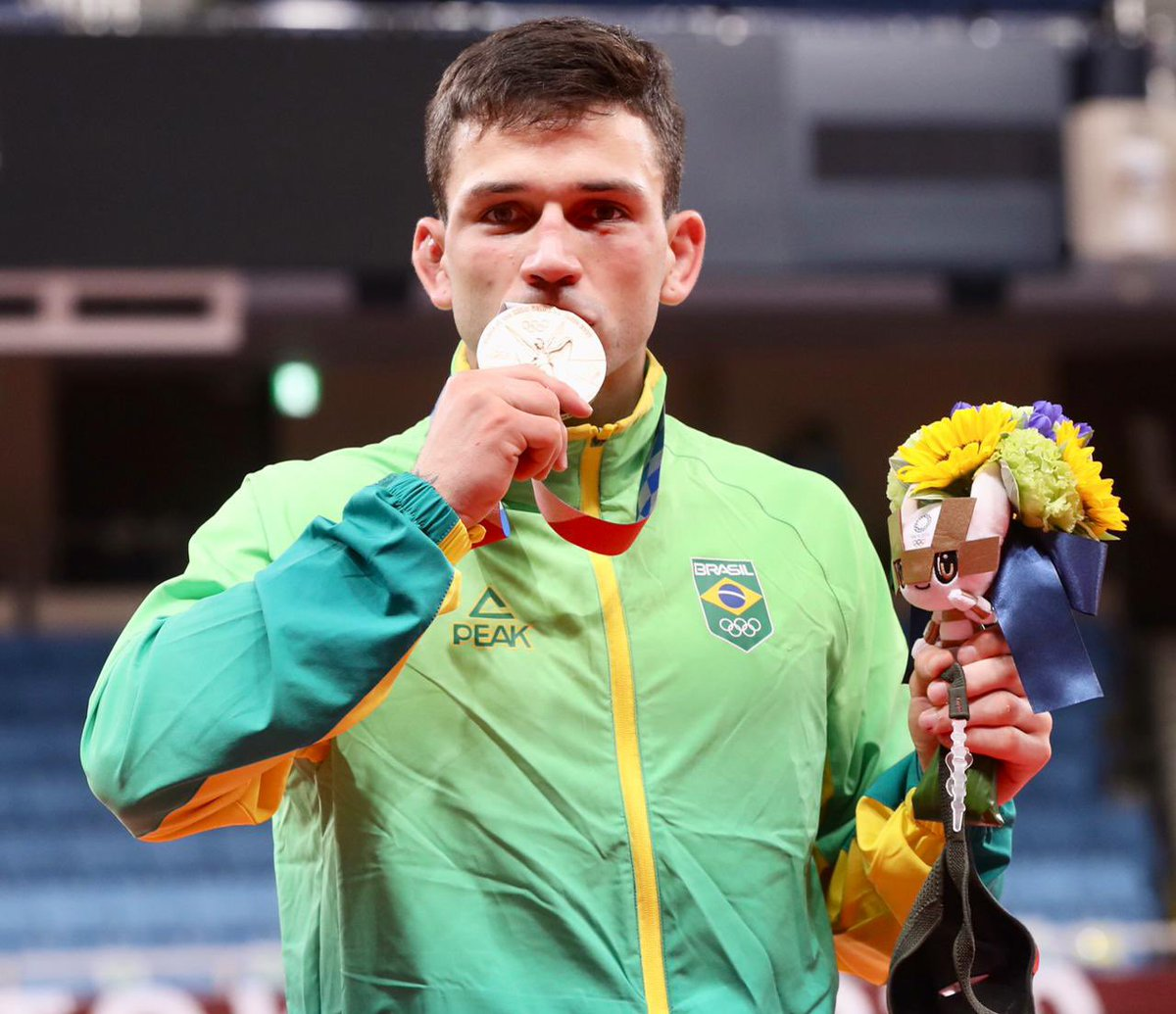 Daniel Cargnin conquista a primeira medalha do Brasil no judô