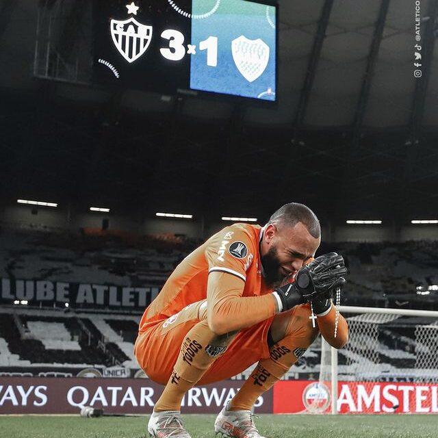 Libertadores: Goleiro do Atlético-MG brilha na classificação sobre o Boca Juniors