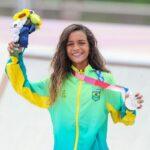 Jogos Olímpicos: Rayssa Leal agradece apoio da torcida brasileira após medalha