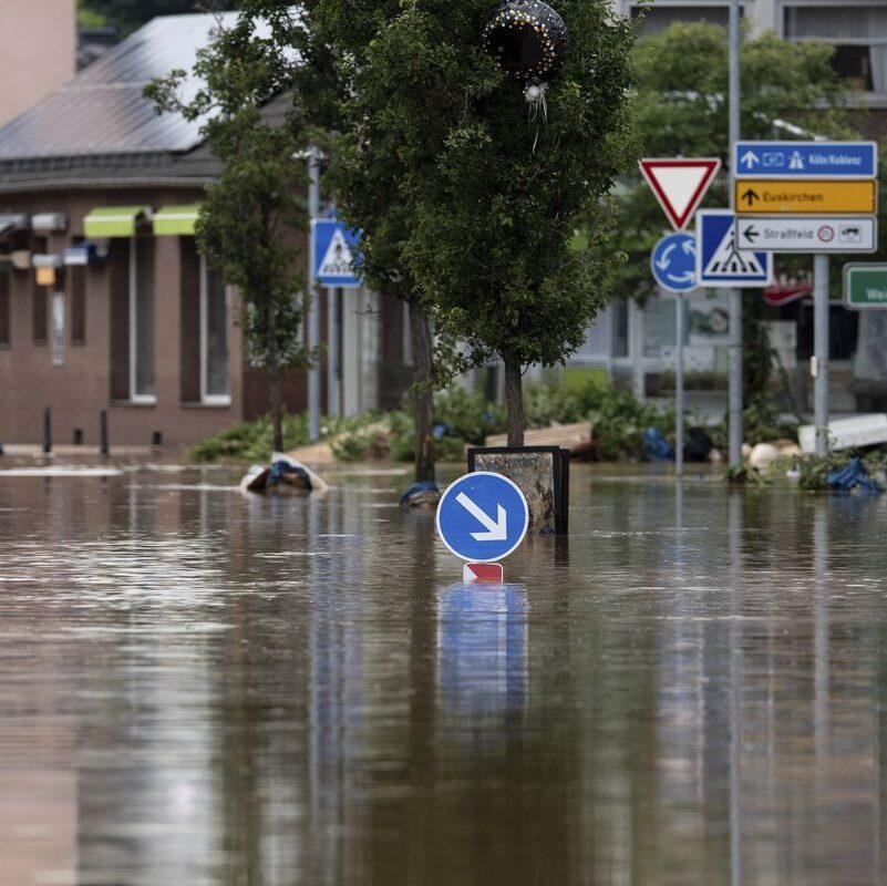 Inundações na Alemanha e na Bélgica causam mais de 120 mortes