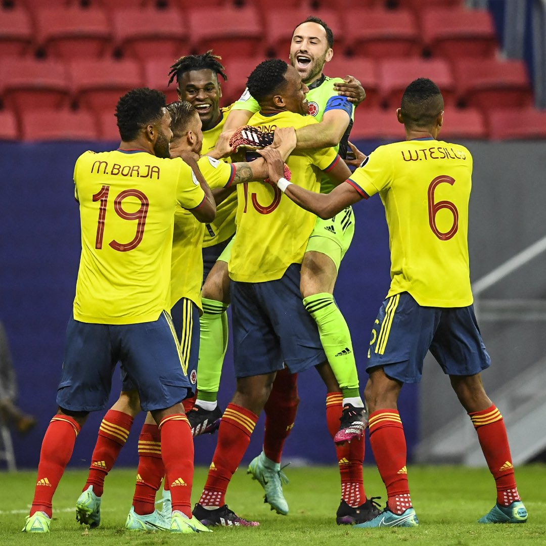 Copa América: Colômbia elimina o Uruguai e agora vai enfrentar a Argentina