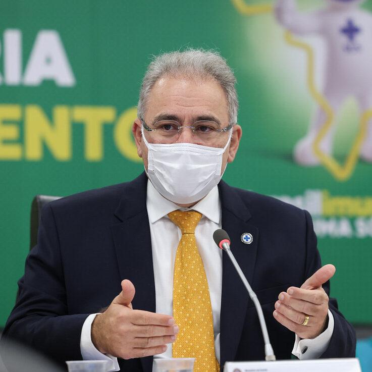 Queiroga e governadores debatem sobre vacinas e volta às aulas