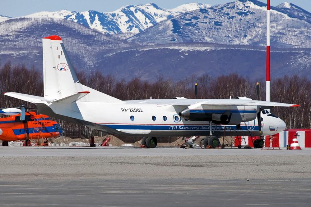 Rússia localiza destroços de avião que caiu no leste do país