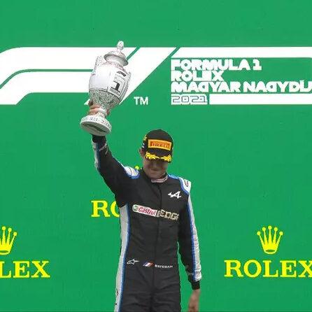 Esteban Ocon vence o GP da Hungria