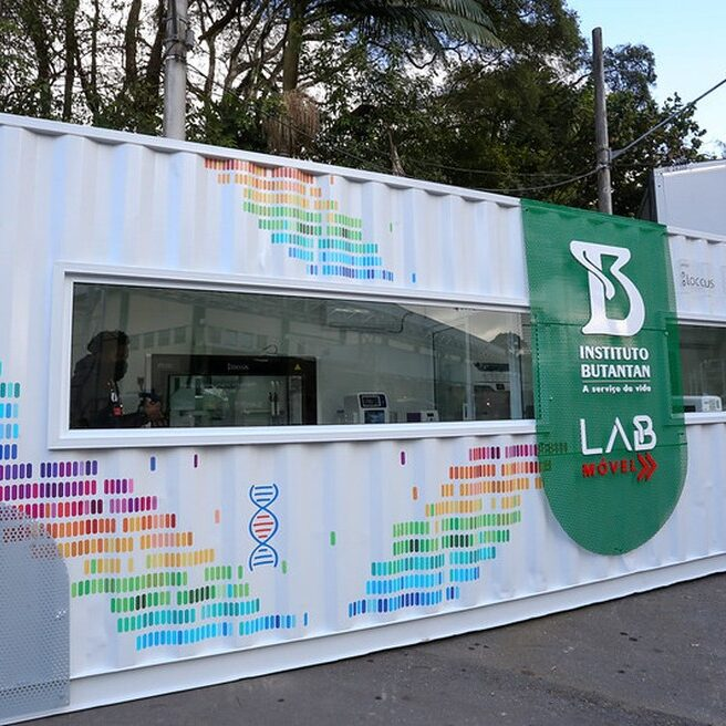 Coranavírus: Butantan apresenta laboratório móvel que identifica variantes