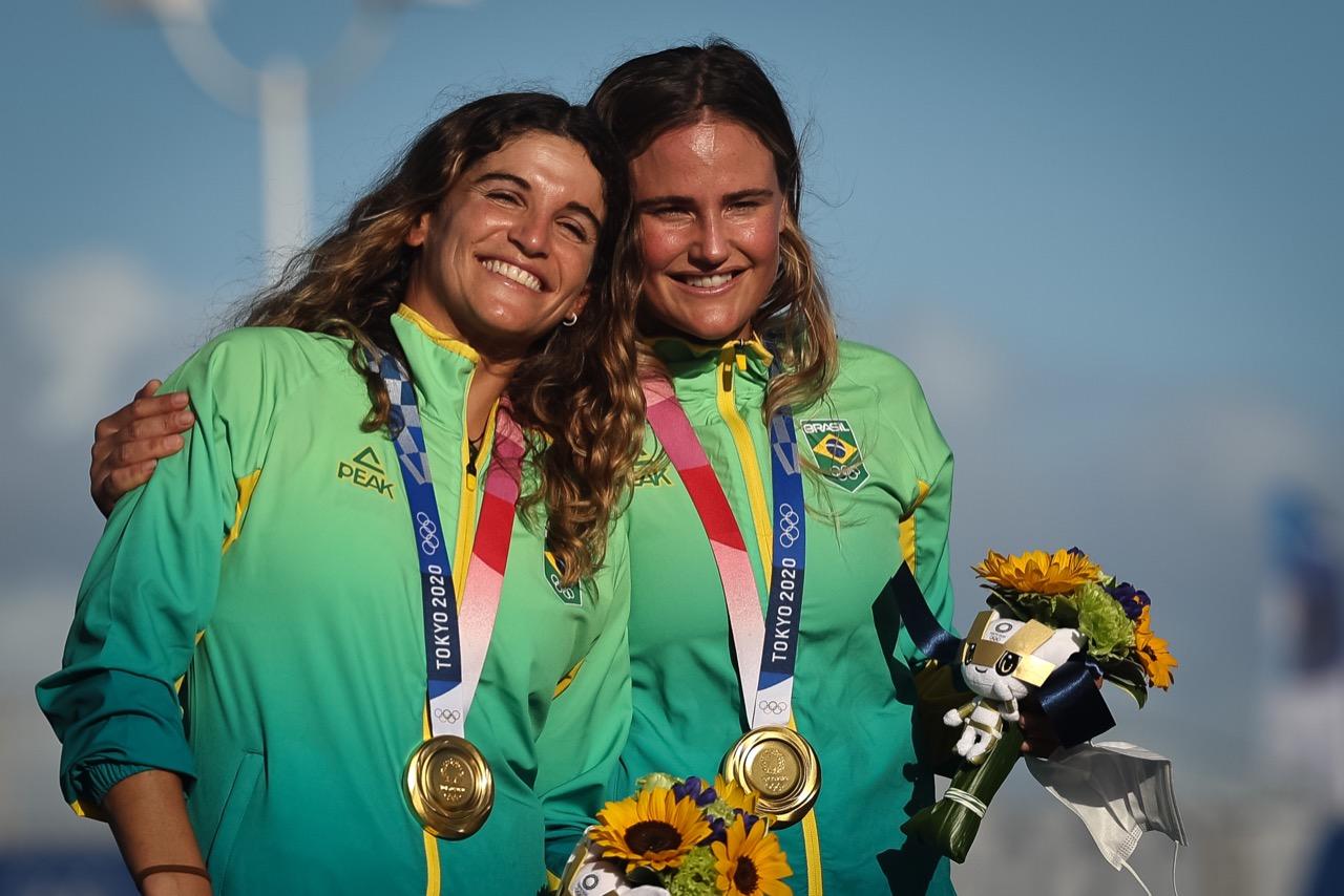 Jogos Olímpicos: Brasil conquista ouro na vela e bronze no atletismo
