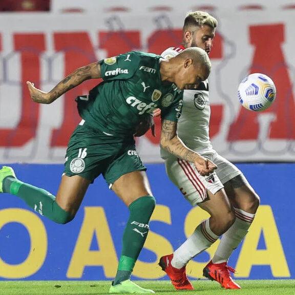 Brasileirão: São Paulo tem dois gols anulados e clássico com o Palmeiras termina empatado