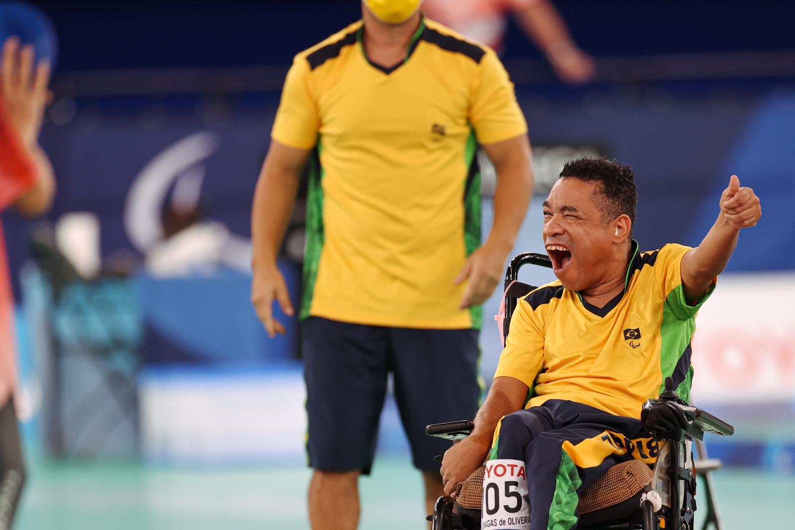 Brasil conquista medalha inédita nos Jogos Paralímpicos
