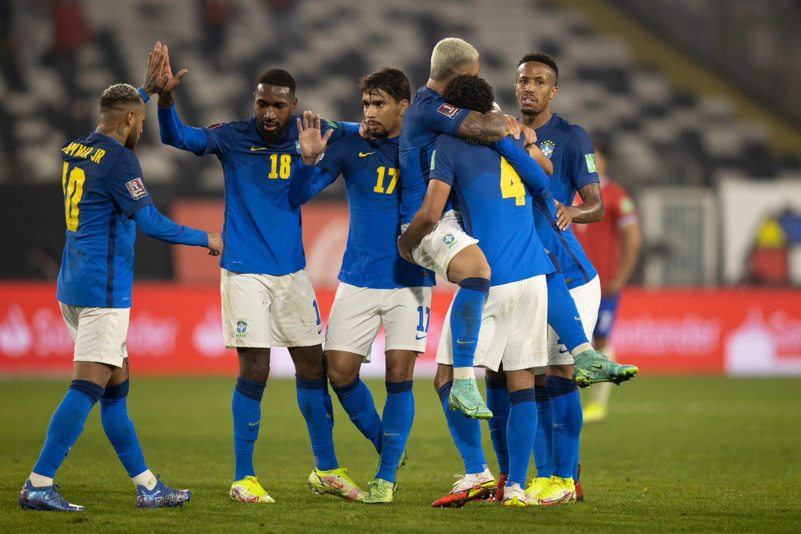 Eliminatórias: Brasil vence o Chile e alcança melhor arrancada